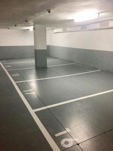 Pintar el parking con resinas especiales debido a la humedad