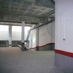 Saneamiento de paredes y techos del garaje