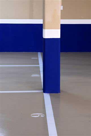 Pintado de numeración de plazas de parking
