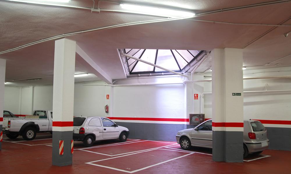 Parking c viladomat n 319 pintarparking s l - Pintura suelo parking ...