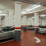 Reparación de bajantes del parking